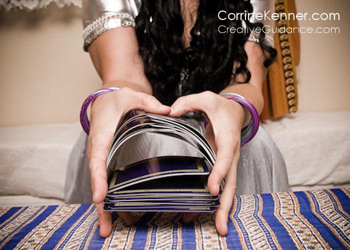 Corrine Kenner Creative Guidance Tarot Shuffle